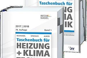 Taschenbuch für Heizung + Klimatechnik 2017/2018