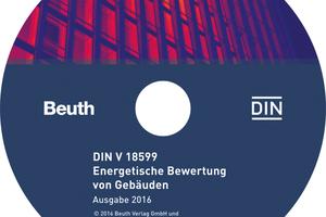 CD-ROM zur DIN V 18599<br />