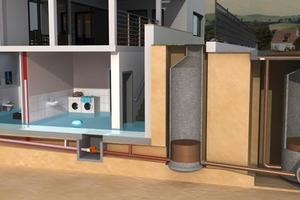 Rückstauverschlüsse dürfen nicht als zentrale Gebäudeabsicherung verwendet werden, das würde zu einer Flutung der Räume führen.