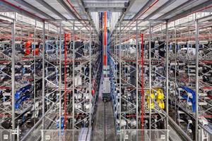 """<div class=""""99 Bildunterschrift"""">Besondere Anforderungen an Gammel Engineering stellte die Planung der Sprinkleranlage im Hochregallager dar. </div>"""