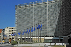 Das Berlaymont-Gebäude in Brüssel ist Sitz der Europäischen Kommission.<br />