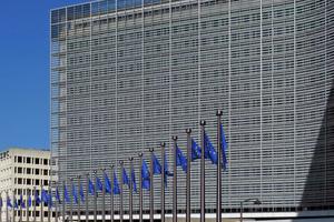 Das Berlaymont-Gebäude in Brüssel ist Sitz der Europäischen Kommission.
