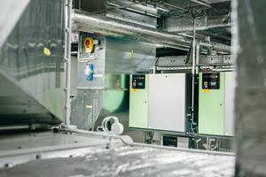 Befeuchtertechnik in den RLT-Anlagen