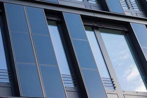 Fassadenelemente mit CIGS-Dünnschichtmodulen<br />