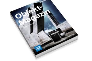 Das Objekt-Magazin von Geberit und Keramag erleichtert durch seine strukturierte Gestaltung nach typischen Bauaufgaben die Planung von Sanitärprojekten.