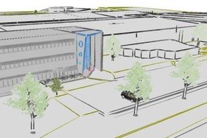 Das neue Büro- und Kantinengebäude der Systemair GmbH ist ein Bekenntnis zum Standort Boxberg-Windischbuch. Foto: Systemair