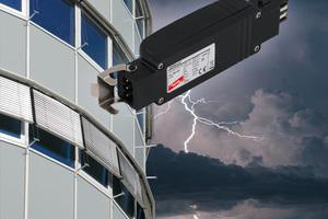 """""""DEHNcord R 3P"""" ist ein steckbaree Schutz für elektrische Raffstores, Jalousien und Markisen.<br />"""
