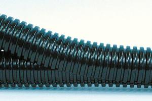 """Das wiederverschließbare Kabelschutzrohr """"Co-flex PP-UV"""" von Fränkische dient dem Kabelschutz im Außenbereich und kann problemlos und sicher nachgerüstet werden, ohne dass Leitungen abgeklemmt werden müssen.<br />"""