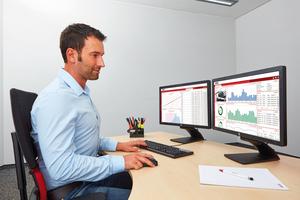Am digitalen Leitstand lassen sich Heizungsanlagen aus der Ferne kontrollieren oder monitoren.