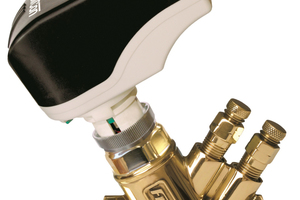 """Die """"FlowCon""""-Regelventile erweitern das Produktsortiment von Taconova um den Bereich dynamischer hydraulischer Abgleich."""