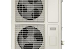 Außenmodul der Split-Luft-/Wasser-Wärmepumpe Wolf BWL-1S(B)-10 und BWL-1S(B)-14