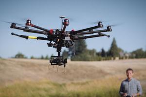 Drohnen bieten neue Möglichkeiten der Datenerfassung.