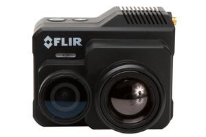 """Die Flir-""""Duo Pro R"""" bietet professionellen Drohnenanwendern die Reichweite und die Bilddetails, die sie benötigen, um in einem Flug relevante thermische und sichtbare Daten zu erfassen."""