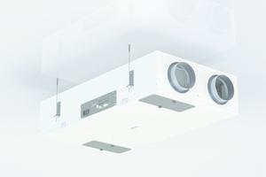 """Das """"DXR""""-Gerät wurde für den direkten Einsatz im Wohnbereich für die Decken- sowie Zwischendeckenmontage konzipiert."""