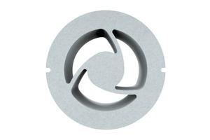 """Die spezielle Bauweise und das schallabsorbierende Material des """"3K""""-Schalldämm-Elements sorgen für eine noch leisere Lüftung.<br />"""