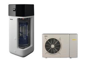 """Die """"HPSU monobloc compact"""" ist eine Luft-/Wasser-Wärmepumpe in Monoblock-Variante ohne Kältemittelleitung."""