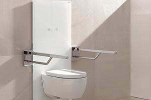 """Elektronisch stufenlos höhenverstellbares WC-Modul """"S 50"""""""
