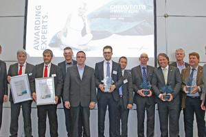 Die Preisverleihung findet auf der Chillventa in Nürnberg statt (hier die Preisträger von 2016).