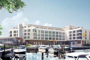 Das Arborea Marina Resort Neustadt in der Lübecker Bucht in Schleswig-Holstein wird im Frühjahr 2018 eröffnet.