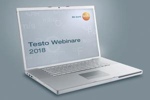 Testo baut sein Angebot an Webinaren aus.  Foto: Testo