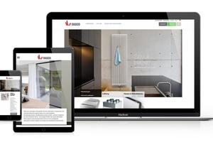 Ein responsives Webdesign des neuen Internetauftritts von Vasco erlaubt eine optimale Surferfahrung auf so unterschiedlichen Endgeräten wie Desktop-PC, Laptop, Tablet oder Smartphone.  Bild. Vasco