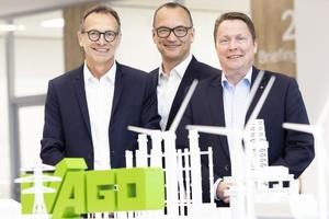 Von links: Jürgen Schäfer (CSO), Christian Sallach (CDO & CMO) und Sven Hohorst (CEO) präsentierten die aktuellen Geschäftszahlen der Wago-Gruppe.  Foto: Wago