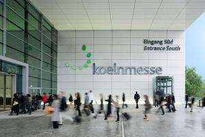 Eingang Süd der Koelnmesse - Apleona erneuert die TGA in Halle 10 Foto: koelnmesse
