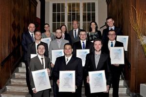 Der BTGA ehrte die besten Auszubildenden der TGA-Branche des Prüfungsjahrgangs 2017 in Lübeck-Travemünde.<br />