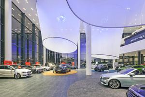 Neuwagenausstellung