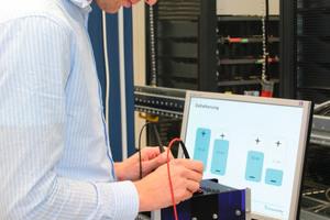 Das Fraunhofer ISE in Freiburg führt in seinen Testlabors Prüfungen an Batteriezellen, -modulen und kompletten Energiespeichersystemen durch.