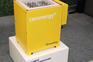 Natriumchlorid-Nickel-Batterie als skalierbarer Energiespeicher kurz vor der Marktreife am Stand von Fraunhofer IKTS in Halle 2