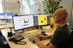 Profi-Support direkt vom Sita-Experten. Hier im Chat, Carsten Meier von der Sita Anwendungstechnik. Foto: Sita