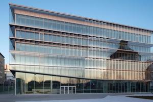 Das Merck Innovation Center wurde von Apleona mit modernster Gebäudetechnik ausgestattet und wird seit Februar 2018 mit einem 70-köpigen Team bewirtschaftet.   Foto: Merck KGaA