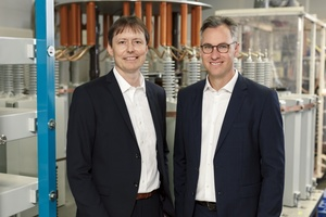 Der neue CTO Dr. Thomas J. Schöpf (links) und Dr. Philipp Dehn  Foto: Dehn