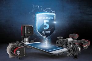 """Der Pumpenhersteller Grundfos gewährt im Zuge der neuen """"Grundfos GO""""-Garantie fünf Jahre Sicherheit ab Inbetriebnahme.  Foto: Grundfos"""