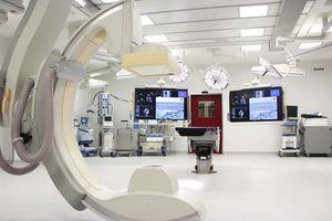 Caverion liefert Lüftungstechnik im Wert von 1,1 Mio. € für einen Erweiterungsbau des Herz- und Gefäßzentrums (HGZ) in Bad Bevensen. Foto: HGZ