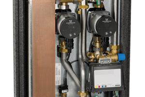 """Taconova erweitert das Frischwarmwassertechnik-Sortiment mit der Station """"TacoTherm Fresh Mega Connect X"""" um eine leistungsstärkere Variante mit größerem Wärmetauscher."""