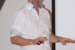 Robert Schilling erläuterte das breite Tece-Produktspektrum.