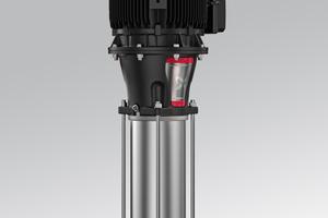 Die Hochdruckkreiselpumpen der CR-Reihe mit den bisherigen Typen CR 90, CR 120 und CR 150 werden durch die neuen XL-Ausführungen CR 95, CR 125 und CR 155 ersetzt.