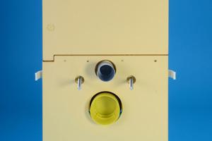 Eck-WC-Stein mit 78 cm Höhe