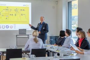 Experten führen durch die Fachseminare,  hier Rainer Pieper, der technische Leiter der Sita.