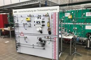 Die im Labor des Instituts für Gebäudetechnik und Energie an der Hochschule Luzern montierte KHS-Wand steht ab Oktober 2018 für diverse Unterrichtsmodule zur Verfügung.