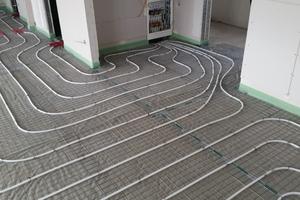 Fußbodenheizung und ...