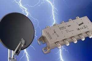"""""""DEHNgate FF5 TV"""" - Überspannungsschutz universell einsetzbar in analogen und digitalen SAT-Anlagen mit terrestrischer Antenne"""