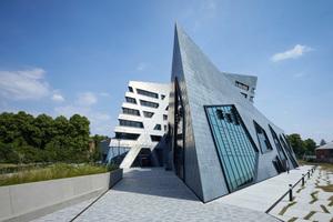 Das Zentralgebäude der Leuphana Universität Lüneburg