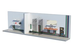 Anbindung der Trinkwasserstation<br />