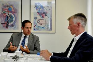 """""""Die Hygiene hat in der Trinkwasserinstallation immer oberste Priorität"""", unterstreicht Stefan Tuschy."""