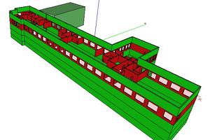 Tim Meyer, Absolvent an der Westfälischen Hochschule, entwickelte im Mülheimer Büro ein Simulationsverfahren, ...<br />