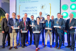 Die Gewinner des Security Innovation Award 2018.<br />