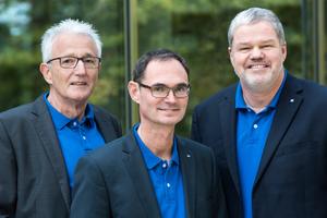 Prof. Dr.-Ing. Dipl.-Kfm. Thomas Benz (Mitte) unterstützt ab November 2018 den QualitätsVerbund Planer am Bau durch wissenschaftliche Expertise, Praxiswissen und tatkräftige Mitarbeit.
